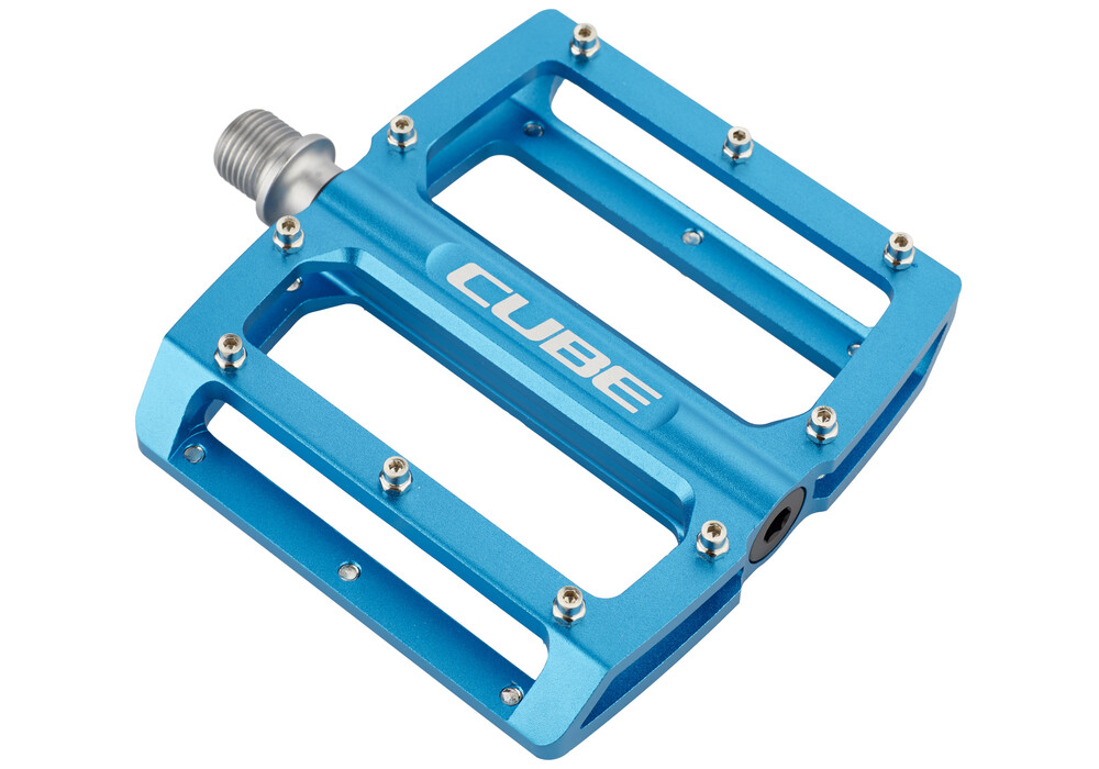 Cube All Mountain Pedals Blue At